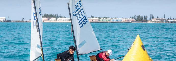 Sailing Class at the Royal Bermuda Yacht Club