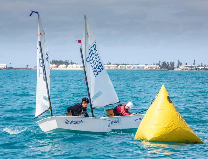 Sailing Class at the Royal Bermuda Yacht Club