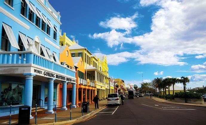 Front Street (Photo Credit: gotobermuda.com)
