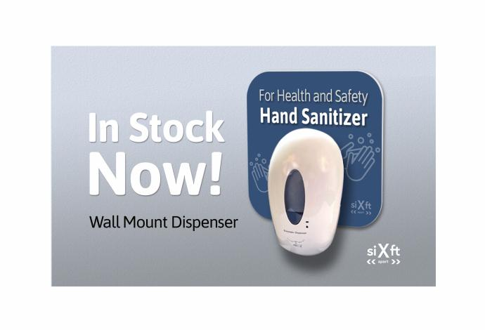 Wall-Mounted HandStand hand sanitizer